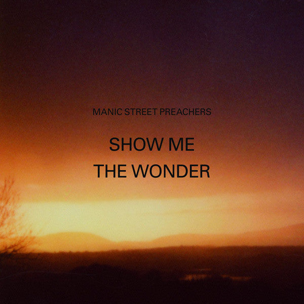 SHOW ME THE WONDER Part 1 VINYL SINGLE