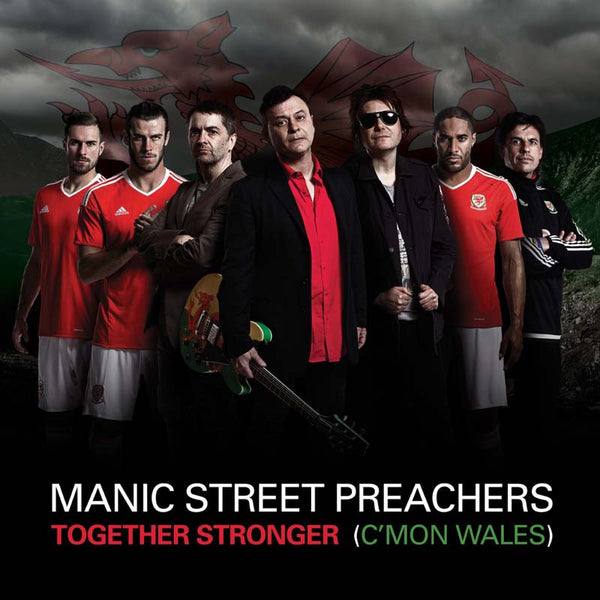 TOGETHER STRONGER (C'MON WALES) CD