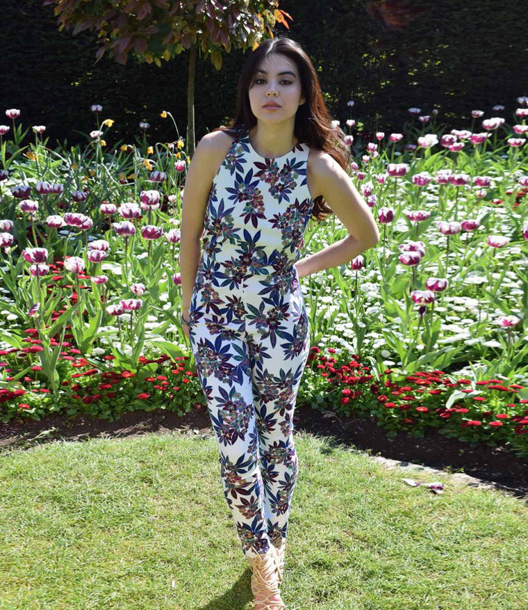 'Boho Babe' Floral Coord Coordinate  Trouser Set