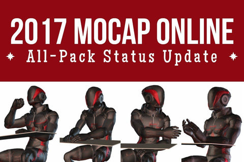 2017 Huge Update From MoCap Online.