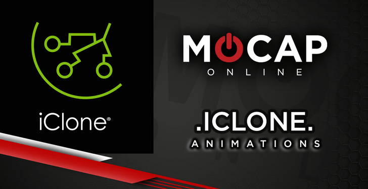 iClone Animations now available at Mocap Online!