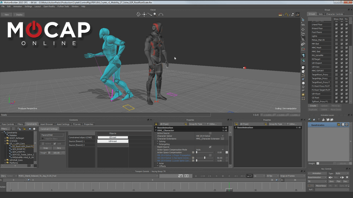 Motionbuilder Tutorial - UE4 Root Motion Retargeting