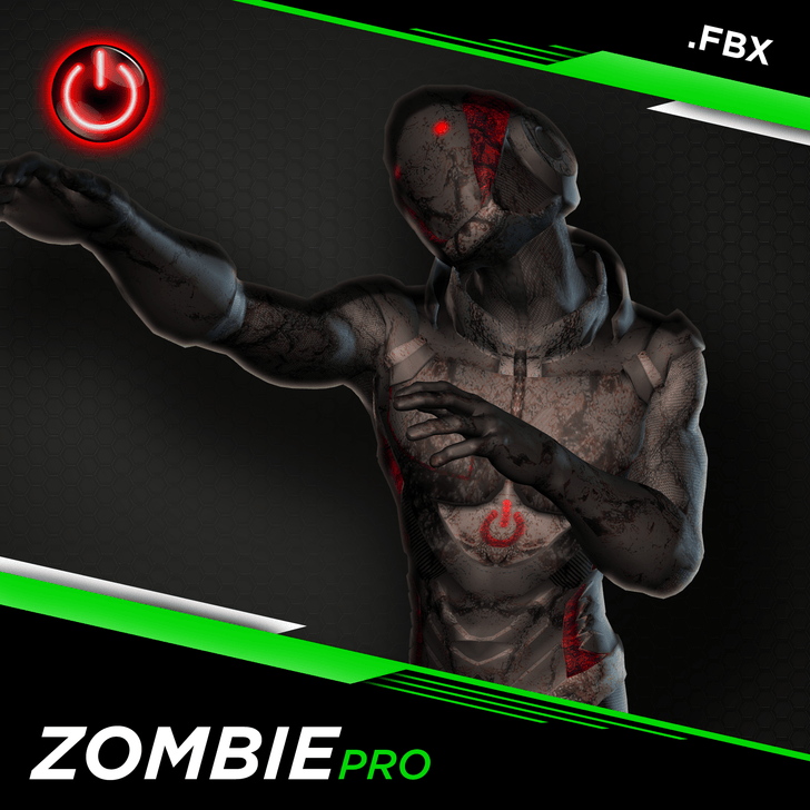 NEW! 3D Zombie Animations for Game Development and CG Production.