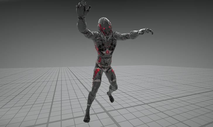 Zombie Animation Update - now with hyper moves!