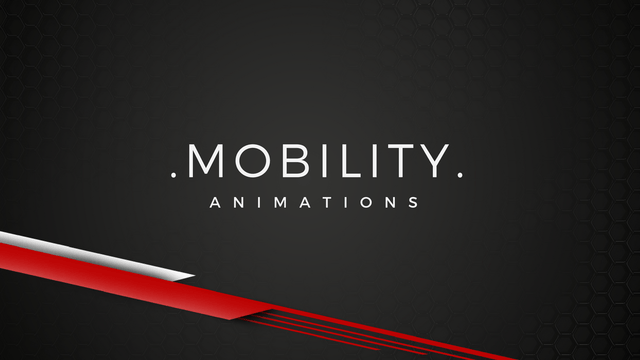 [BIP] MOBILITY - 3D Character Animations
