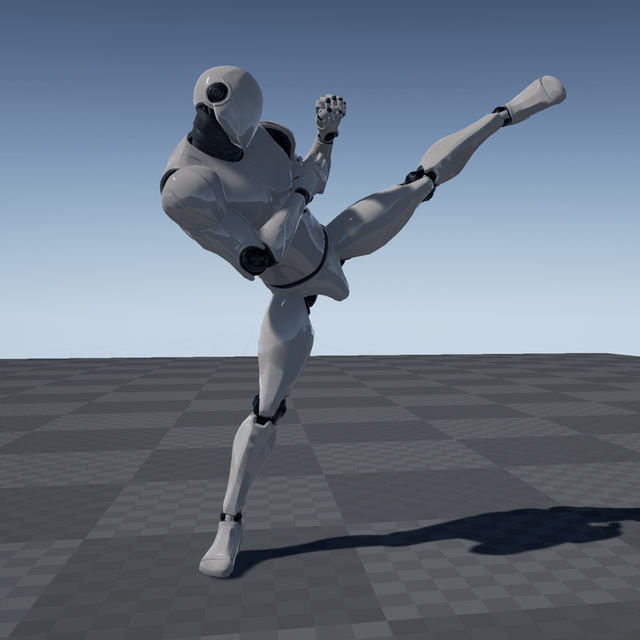 Kick Animations