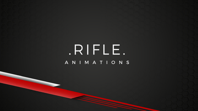 Rifle / Shooter - 3D Character Animations