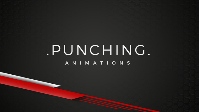 [UE4] Punch -  3D Character Animations
