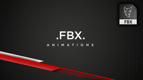 FBX Character Animation Library for Maya, Motion Builder, Blender