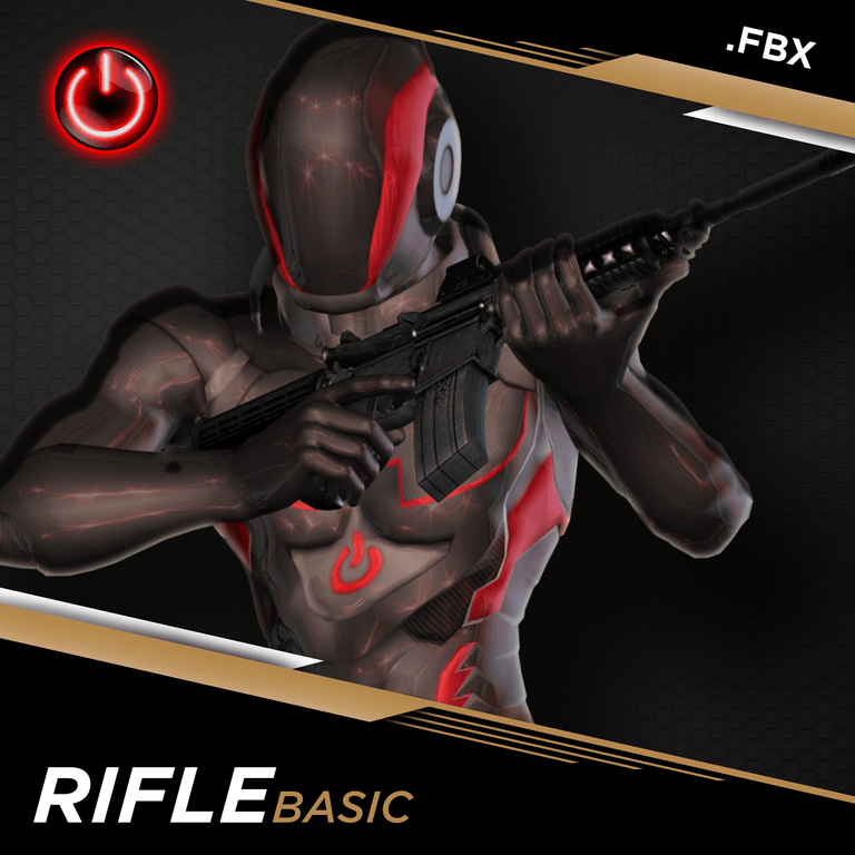 BIP RIFLE: MOCAP ANIMATION PACKS Rifle MoCap Online