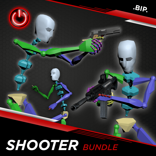 [BIP] Shooter MoCap Bundle Pack