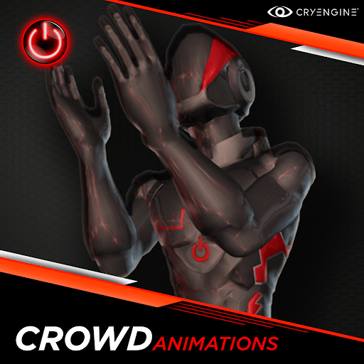 Crowd - 3D Character Animations Life MoCap Online CRY