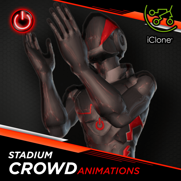 Crowd - 3D Character Animations Life MoCap Online ICL