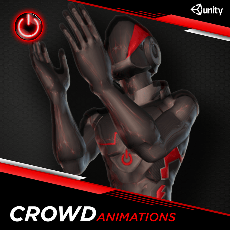 Crowd - 3D Character Animations Life MoCap Online UNITY