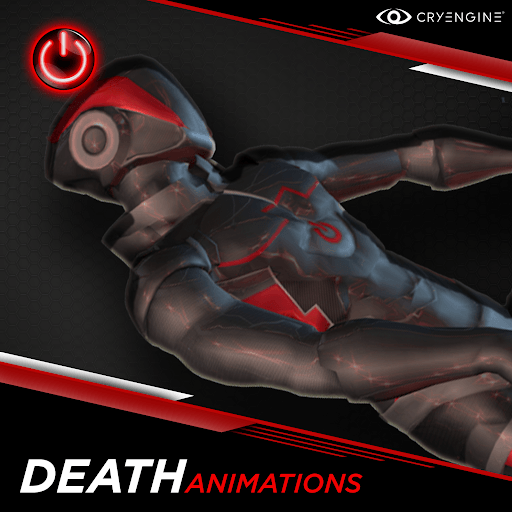 Death - 3D Character Animations Life MoCap Online CRY