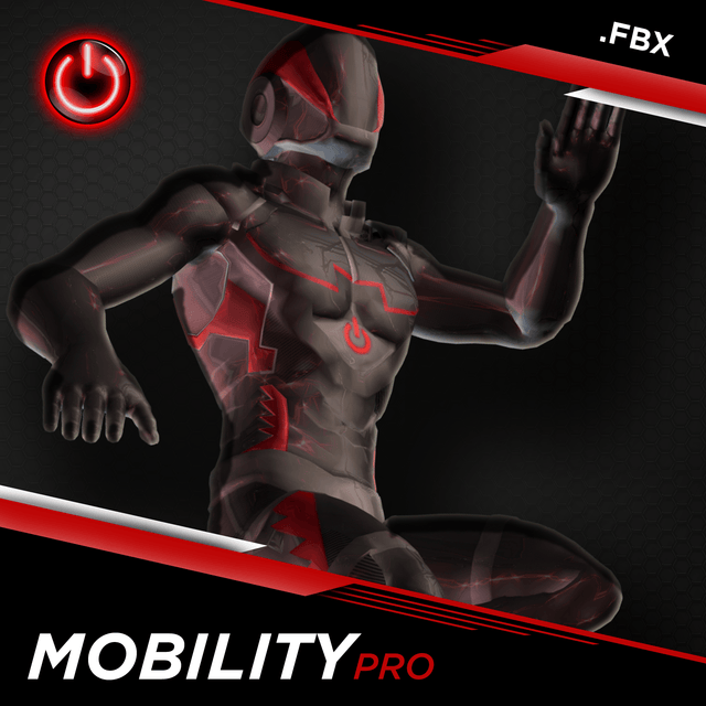 Mobility Pro MoCap Animations