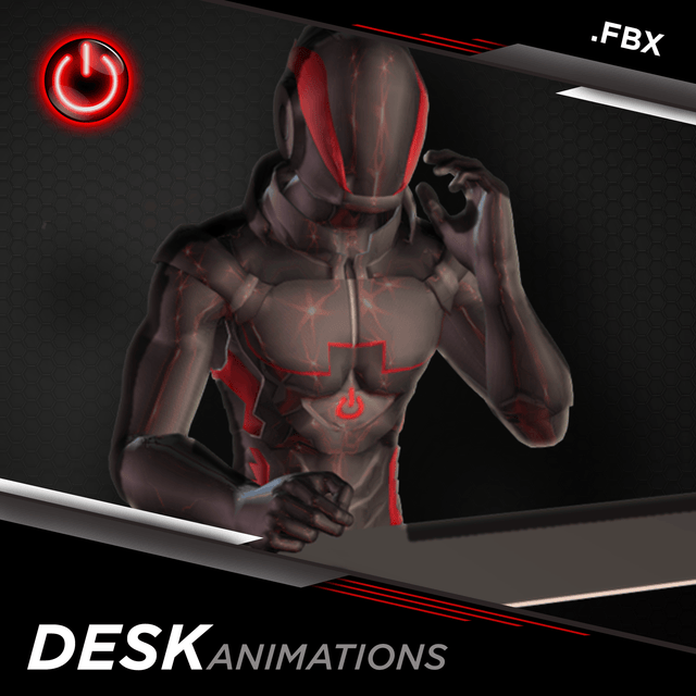 [FBX] Office-Desk Animations