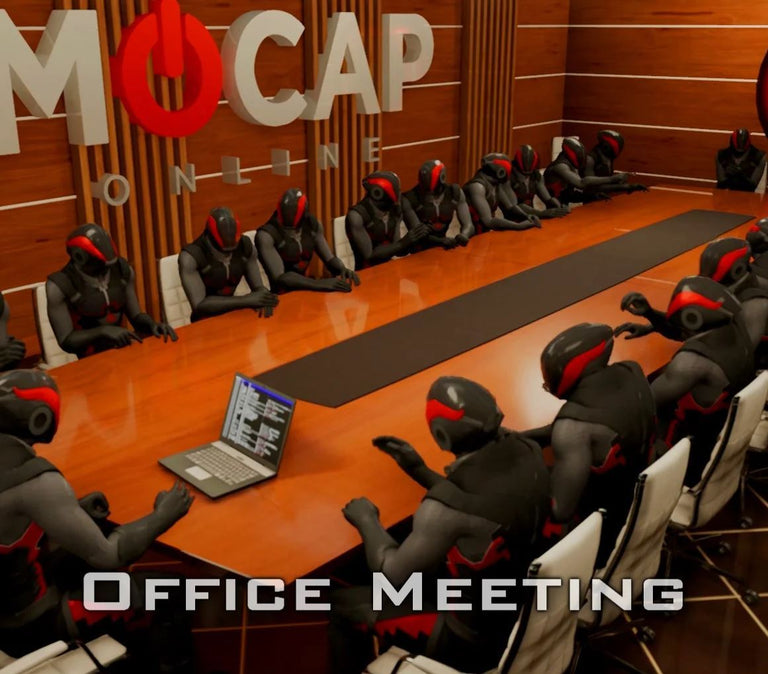 [FBX] Office-Meeting Animations FBX Motus Digital