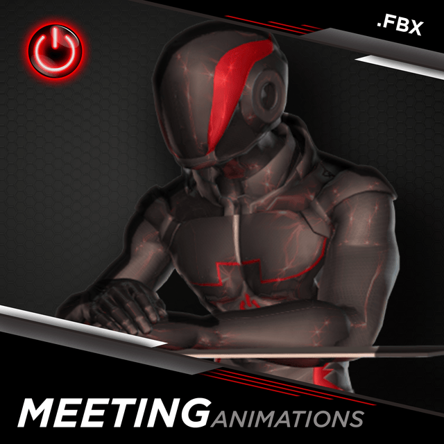 [FBX] Office-Meeting Animations