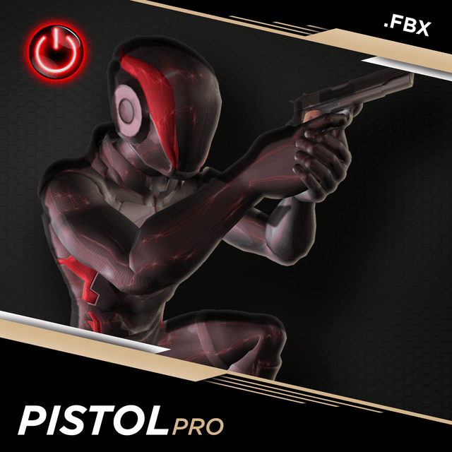 Pistol Pro - 3D Character Animations