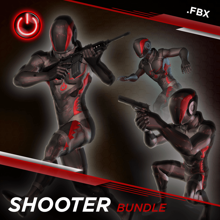 [FBX] Shooter MoCap Bundle Pack
