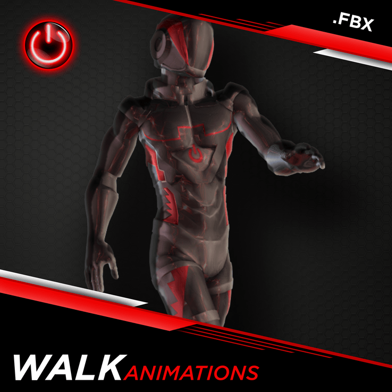 [FBX] Walking Animations