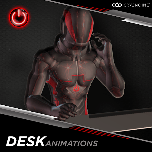 Office / Desk - 3D Character Animations Life MoCap Online CRY