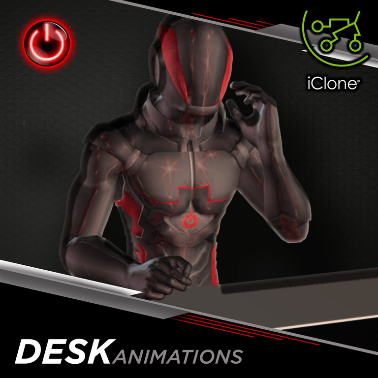 Office / Desk - 3D Character Animations Life MoCap Online ICL