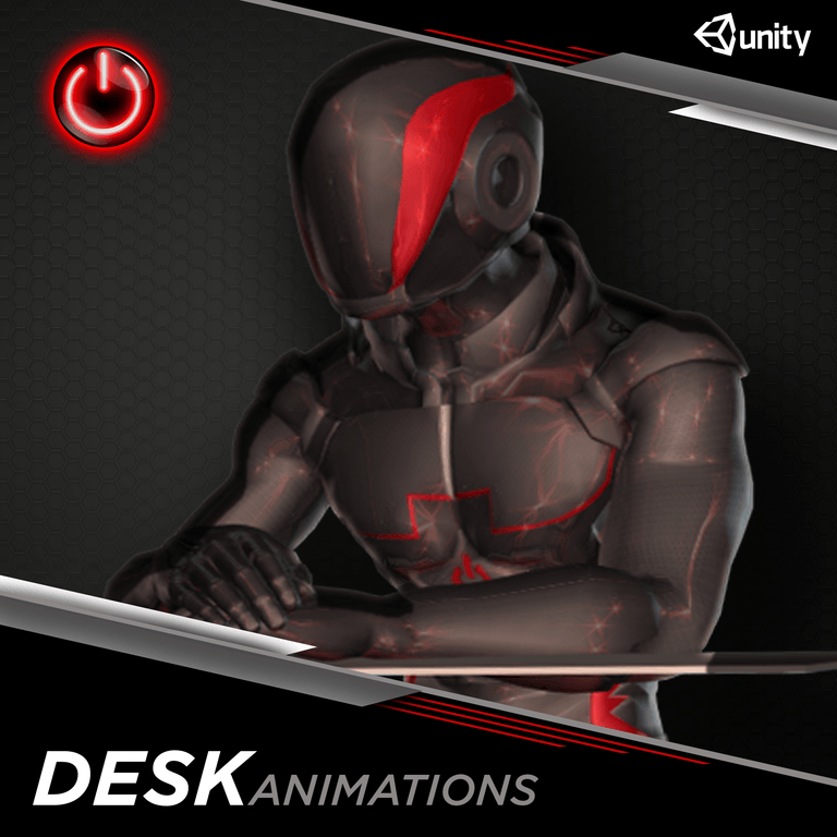 Office / Desk - 3D Character Animations Life MoCap Online UNITY