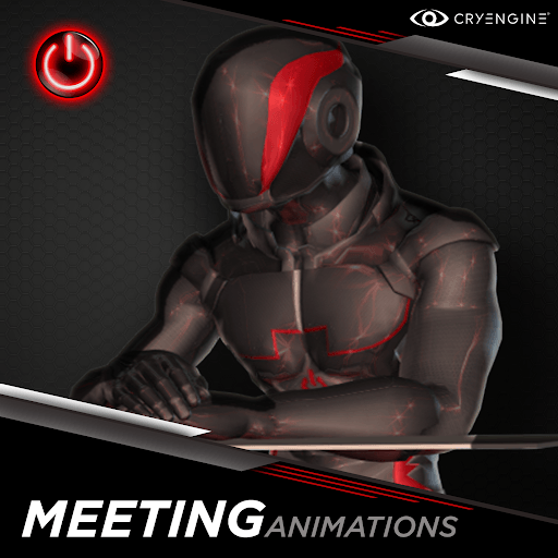 Office / Meeting - 3D Character Animations Life MoCap Online CRY