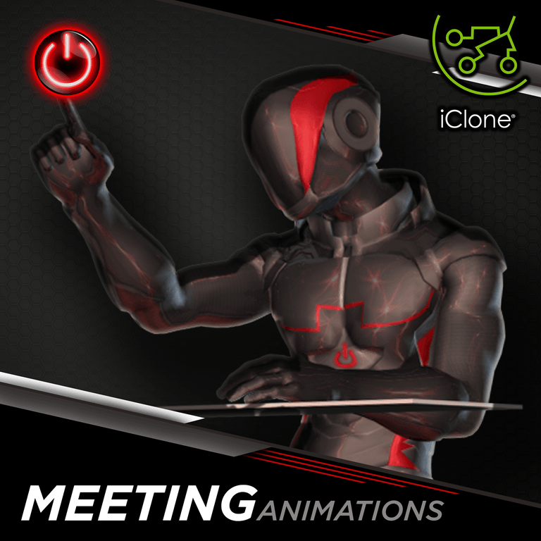 Office / Meeting - 3D Character Animations Life MoCap Online ICL