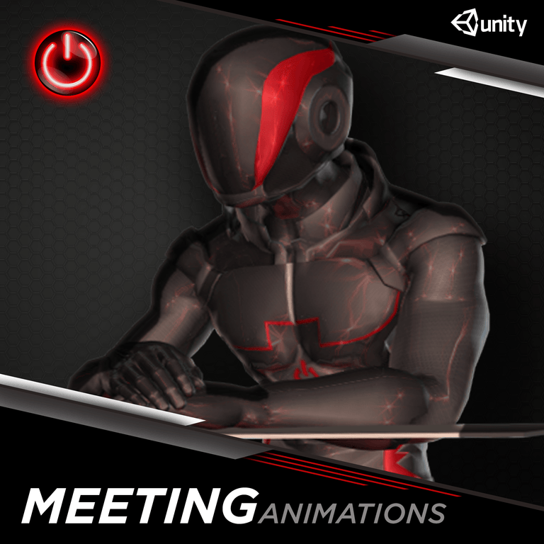 Office / Meeting - 3D Character Animations Life MoCap Online UNITY