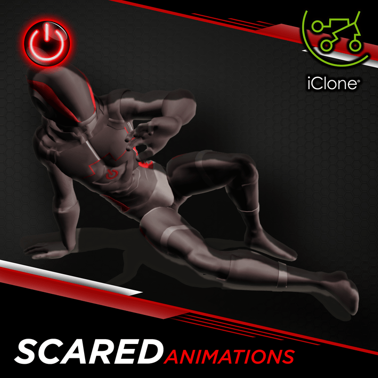 Scared - 3D Character Animations Life Motus Digital ICL