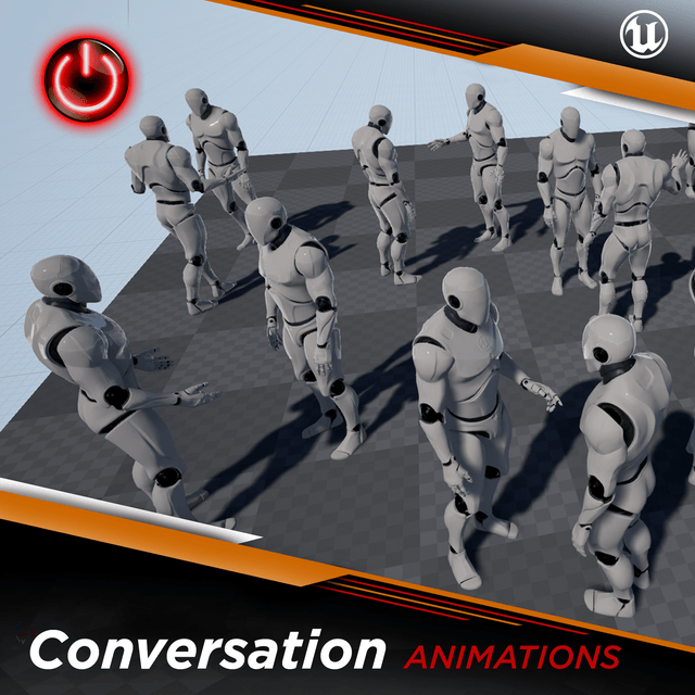 [UE4] Conversation Animations