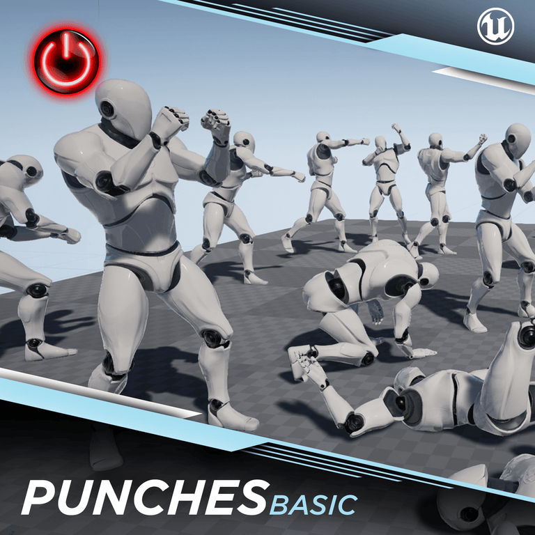 [UE4] Punch Basic