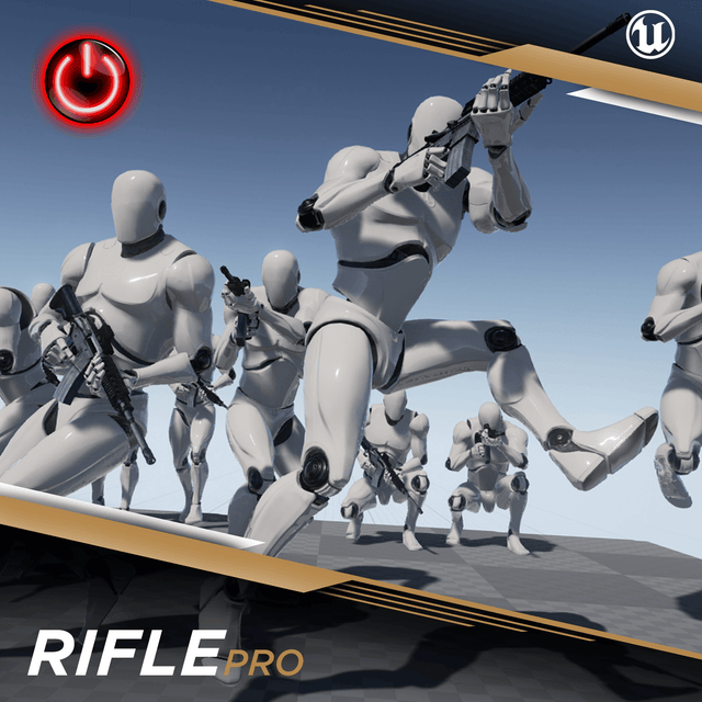 Rifle Pro - 3D Character Animations