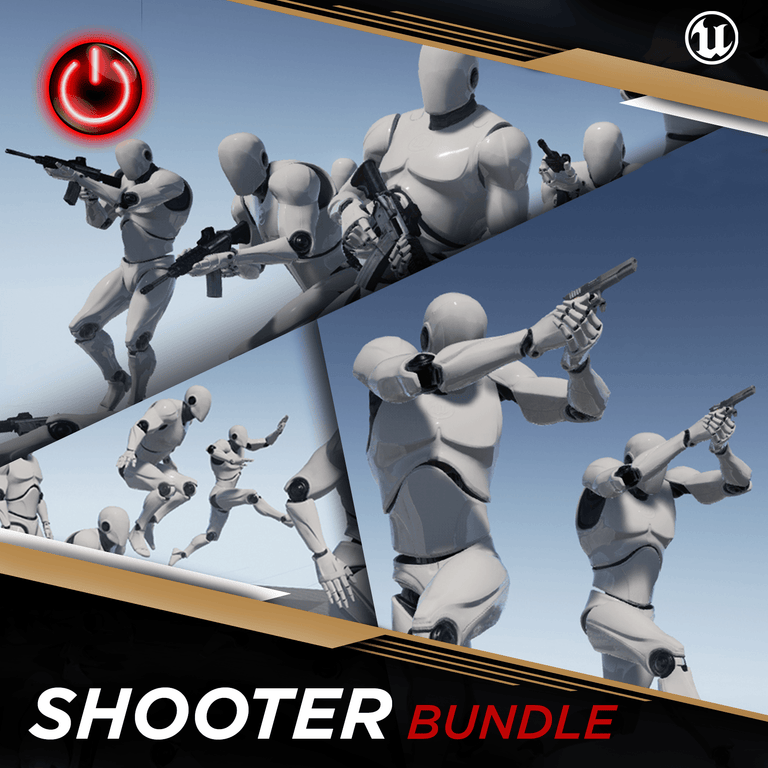 [UE4] Shooter MoCap Bundle Pack