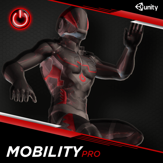 Mobility Pro: 3D Character Animation packs for Game Development