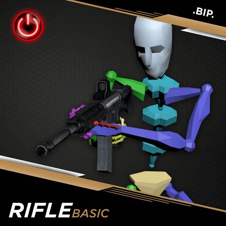 UNITY RIFLE: MOCAP ANIMATION PACKS Rifle MoCap Online