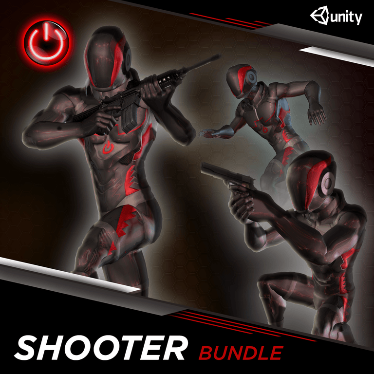 [UNITY] Shooter MoCap Bundle Pack