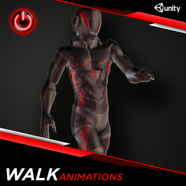 [UNITY] Walking Animations