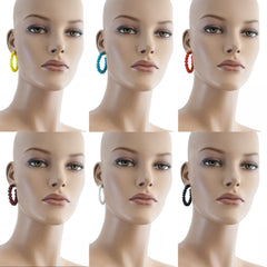 Centouno Round Earrings