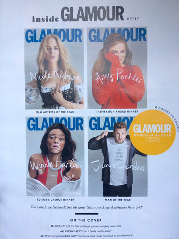Glamour UK July Covers