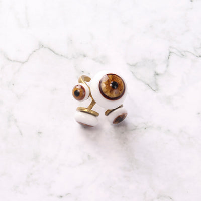 Eyes Statement Ring