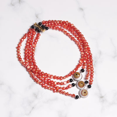 Eyes Statement Collier Necklace