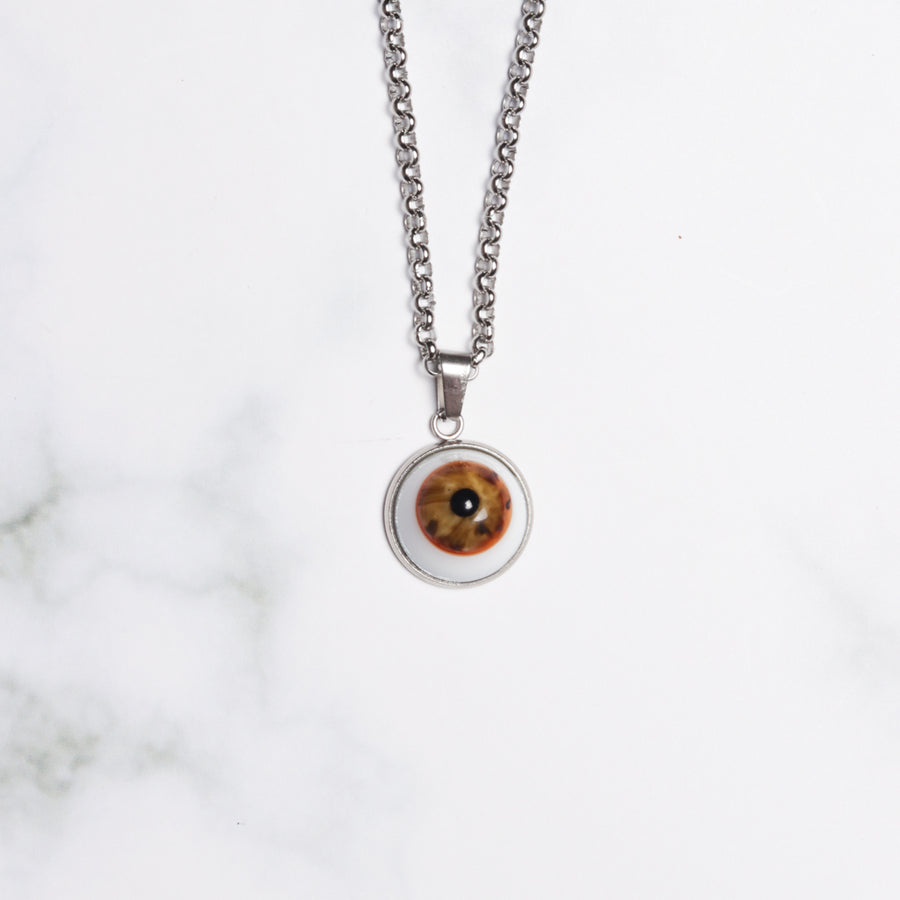 Eye Pendant Necklace Medium
