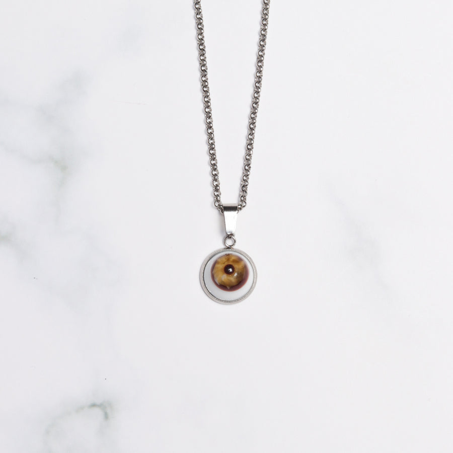 Eye Pendant Necklace Small