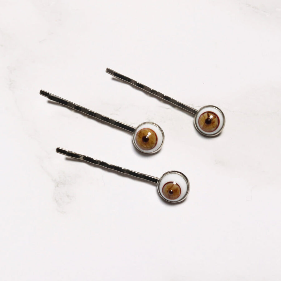 Eye Bobby Pins