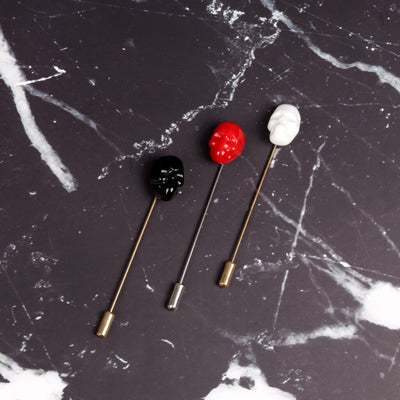 Skull Pin Brooch