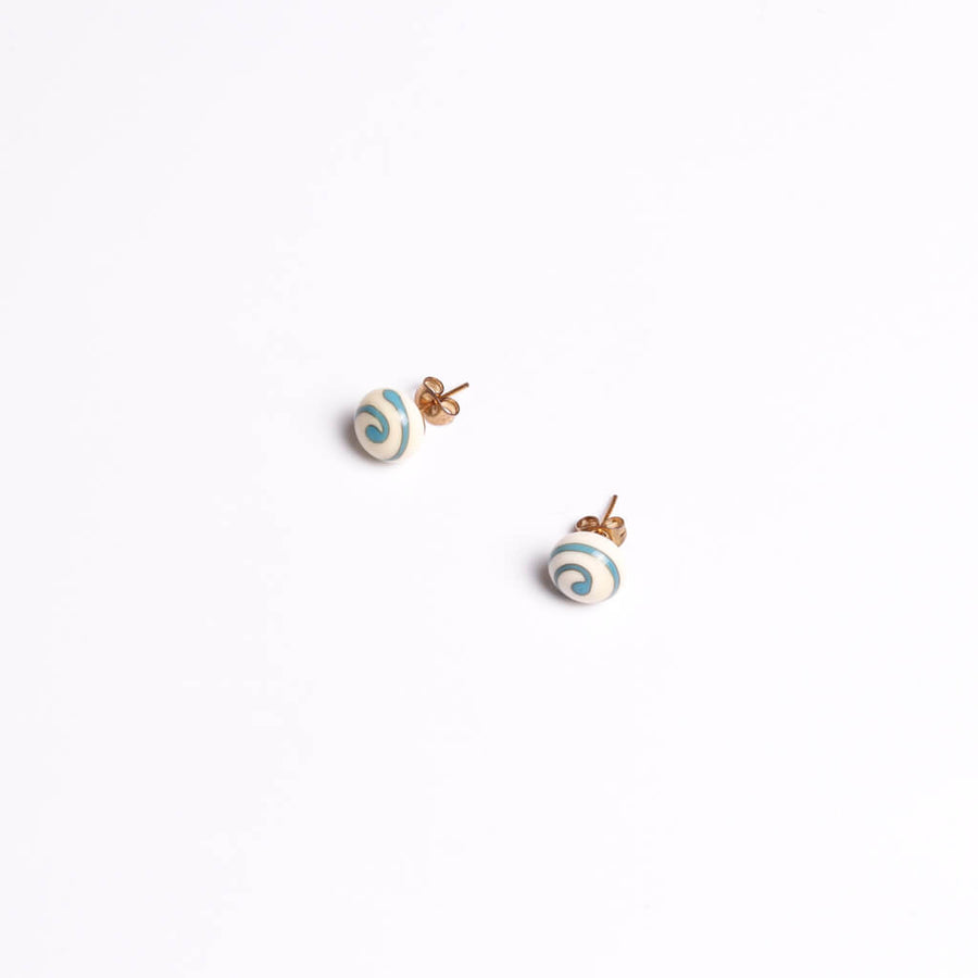 Margherita Ivory Stud Earrings